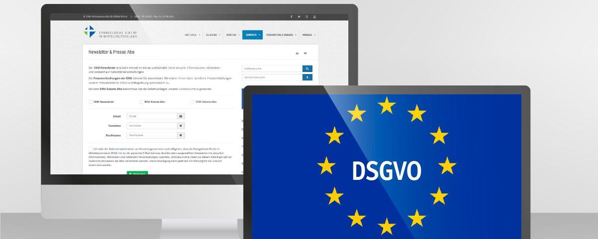 In eigener Sache: EKM aktualisiert Datenschutzhinweise