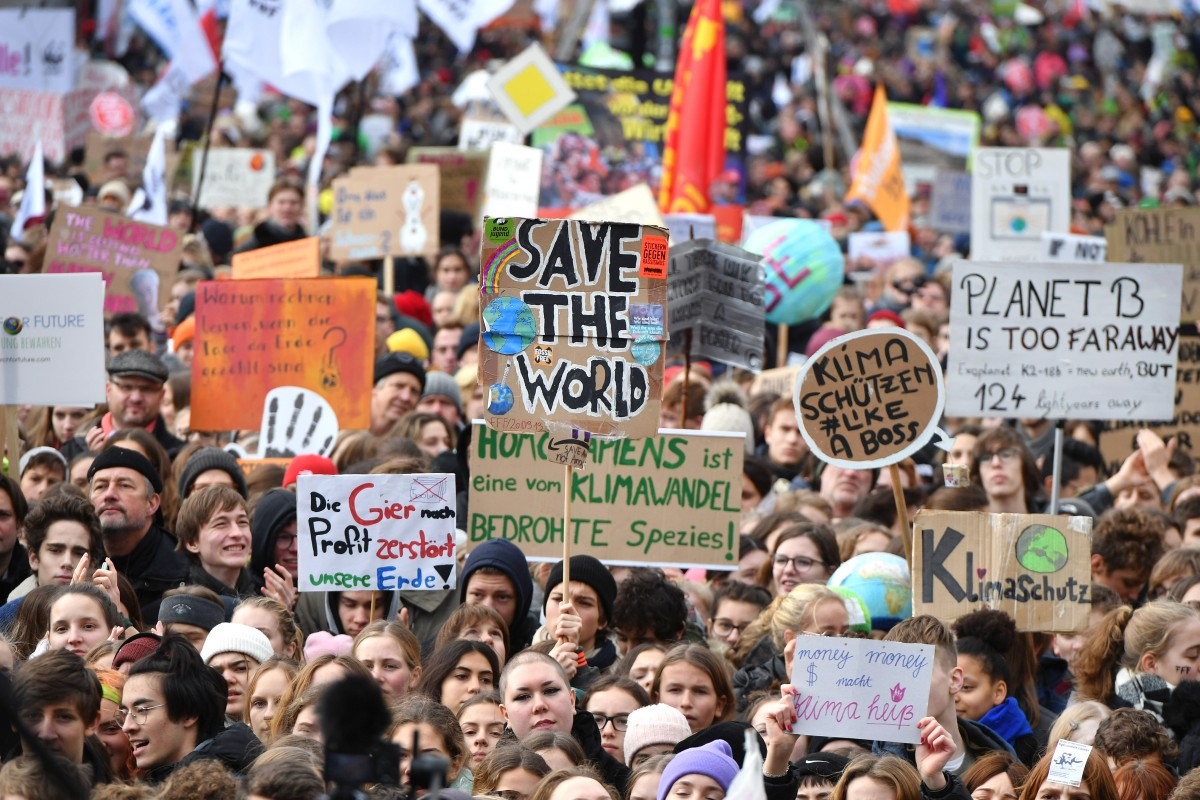 Fridays for future nov19   Foto: epd bild/ Christian Ditsch