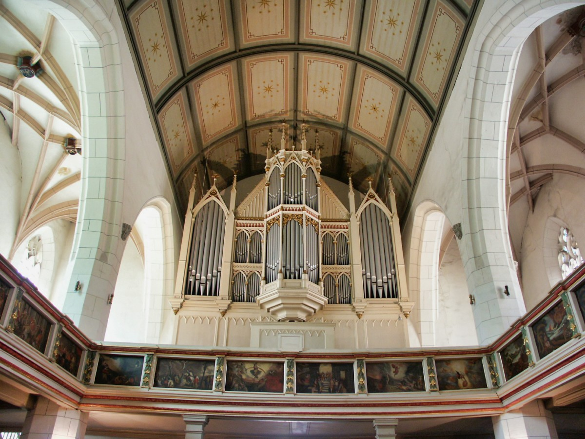 Ekmd Nachrichten Orgel Des Monats April 2020 Der Stiftung Orgelklang Rekonstruktion Eines Meisterwerks In Weissenfels