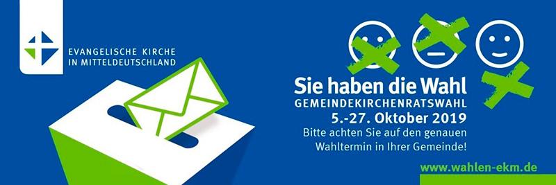 Gemeindekirchenratswahl 2019
