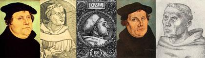 Luthergemälde- und zeichnungen